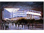 St James Park: NUFC supporters print